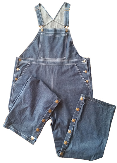 Blue Denim Overall