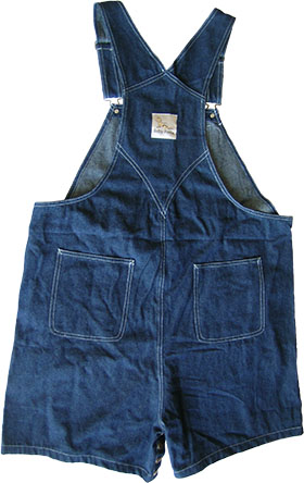 Blue Denim Shortall